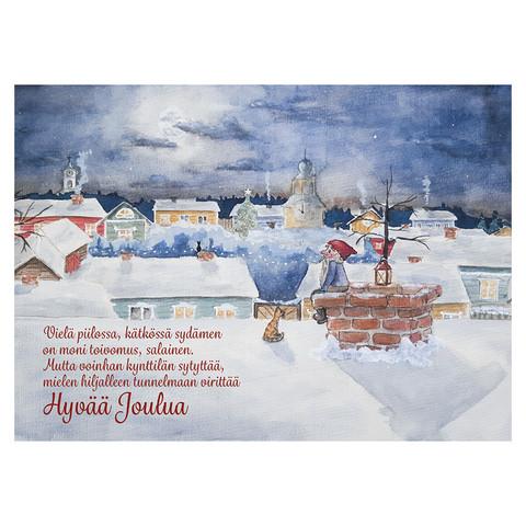 Christmas postcard - Elf's Christmas #2