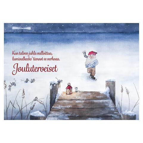 Christmas postcard - Elf's Christmas #4