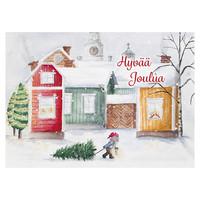 Joulukortti - Tontun joulu #5