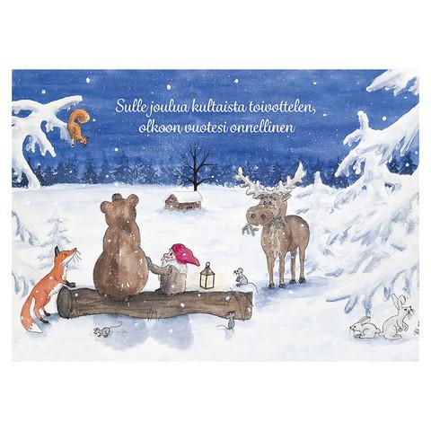 Christmas postcard - Elf's Christmas #6