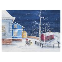 Joulukortti - Tontun joulu #8