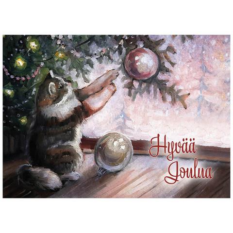 Joulukortti - Kissat #2