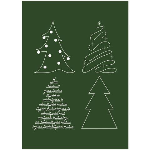 Joulukortti - Joulun rauhaa #7