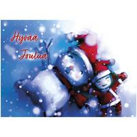 Joulukortti - Ystävän joulu #1
