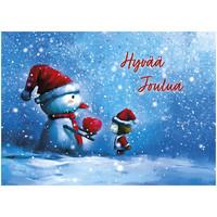 Joulukortti - Ystävän joulu #3