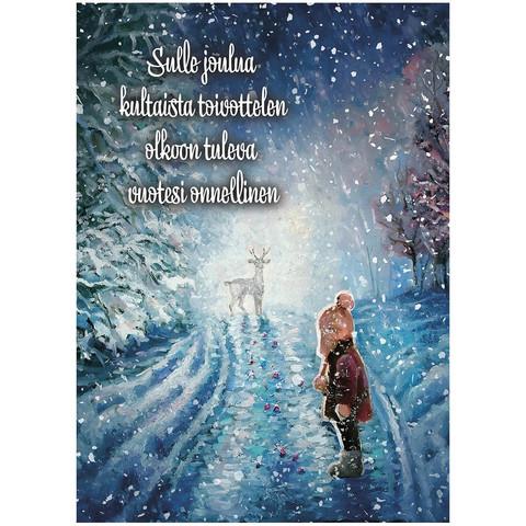 Christmas postcard - Christmas magic #2