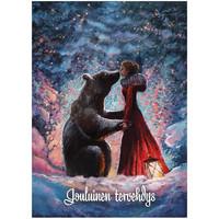Christmas postcard - Christmas magic #3