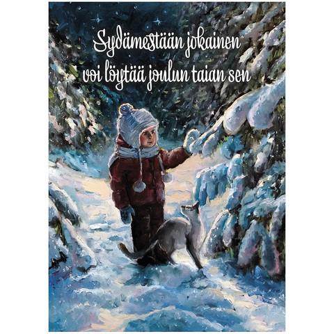 Christmas postcard - Christmas magic #4