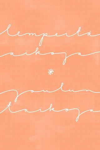 Tuuliamoods - Joulun taikoja