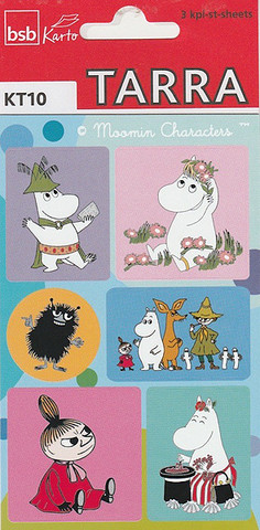 Moomin-stickers (3 sheets) #08