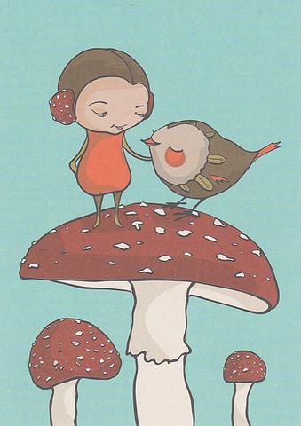 Storycards - Mushroom