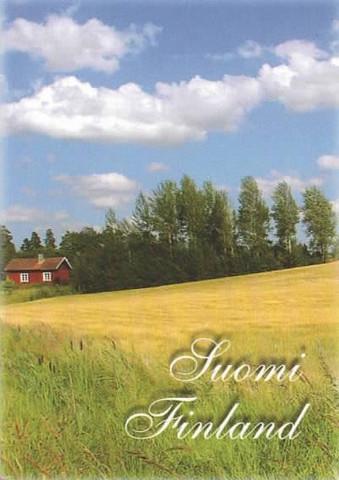 Suomi-Finland peltomaisema #1