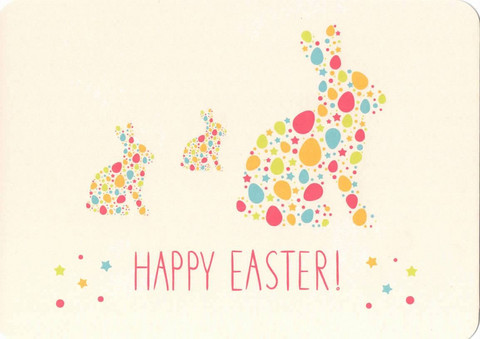 Happy Easter -bunnies