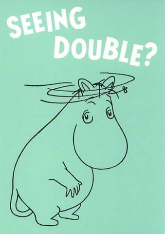 English Moomins - Seeing double