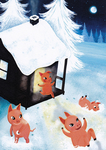 Jonna Markkula - Pigs in snow