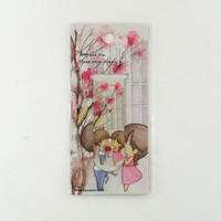 Magnetic bookmark - Amy&Tim #7