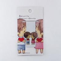 Magnetic bookmark - Amy&Tim #8