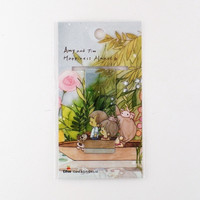 Magnetic bookmark - Amy&Tim #9