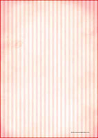 Red stripes - writing papers (A4, 10s)