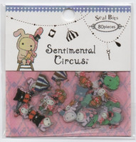 Sticker bag - Sentimental Circus (80 stickers)