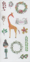 Animals - sticker sheet (10x15cm) #7