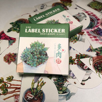 Sticker box - Plants (40 stickers)