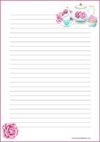 Teekattaus - kirjepaperit (A4, 10s)