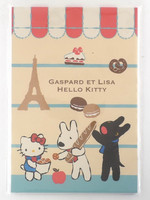 Hello Kitty and Gaspard et Lisa - letter pad (32s, A5)