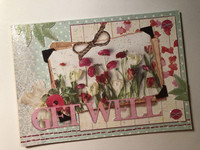 Handmade Get well - card #1