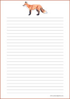Kettu - kirjepaperit (A4, 10s) #4