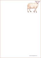 Lammas - kirjepaperit (A5, 10s) #2