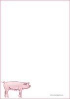 Possu - kirjepaperit (A5, 10s) #1