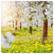 Keväistä kukintaa (14x14cm)