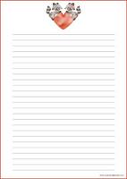 Pesukarhut - kirjepaperit (A4, 10s) #1
