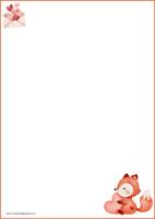 Kettu - kirjepaperit (A4, 10s) #6