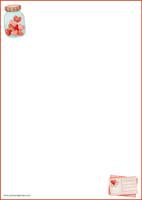 Sydänpurkki - kirjepaperit (A5, 10s) #1