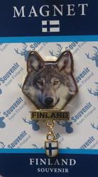 Magneetti Susi, Finland, Suomenlippu matallimagneetti