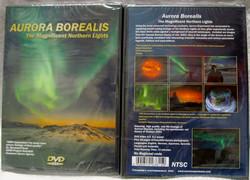DVD-NTSC Aurora Borealis Revontulet, soveltuu Amerikkaan, 6-kielinen