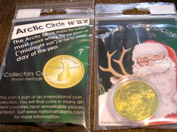 Keräilyraha Joulupukki, Santa Claus Coin
