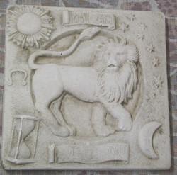 Taulu LEIJONA LEO horoskooppitaulu 20x20cm
