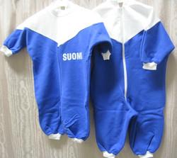 Potkupuku Suomi-gollegehaalarit vauvalle, 60cm, kids
