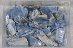 Kyaniitti sininen raaka 3-5g Norja Lyngen Hi32