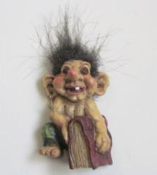 Magneetti trolli-peikko ja kirja
