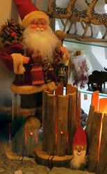 Kelopuulamppu jätkänkynttilä, 3W liekkilampulla, korkeus 30cm nroA