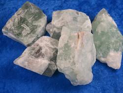 Fluoriitti vihreä raakapala 50-60g Kiina