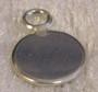 Korupohja pyöreä 7mm, 925-hopea, sopii riipukselle tai korvakoruille