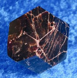 Almandiini-Almandine-Аламандин , viistehiottu n.97g granaatti