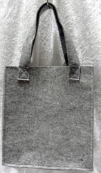 Huopalaukku, harmaa 24x26x9cm