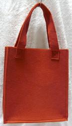 Huopalaukku, punainen 24x26x9cm