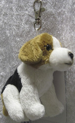 Avaimenperä Ajokoira- Beagle  pehmolelu